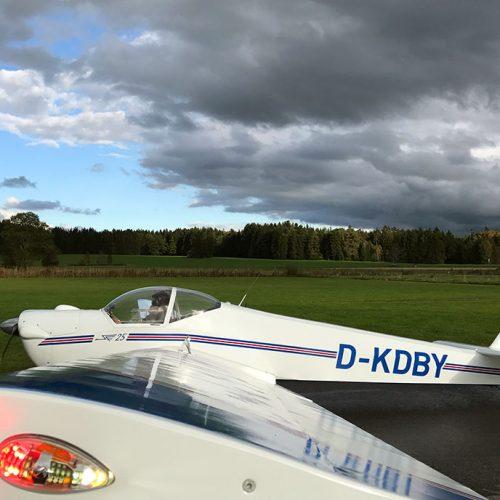 Scheibe SF25c  D-KDBY