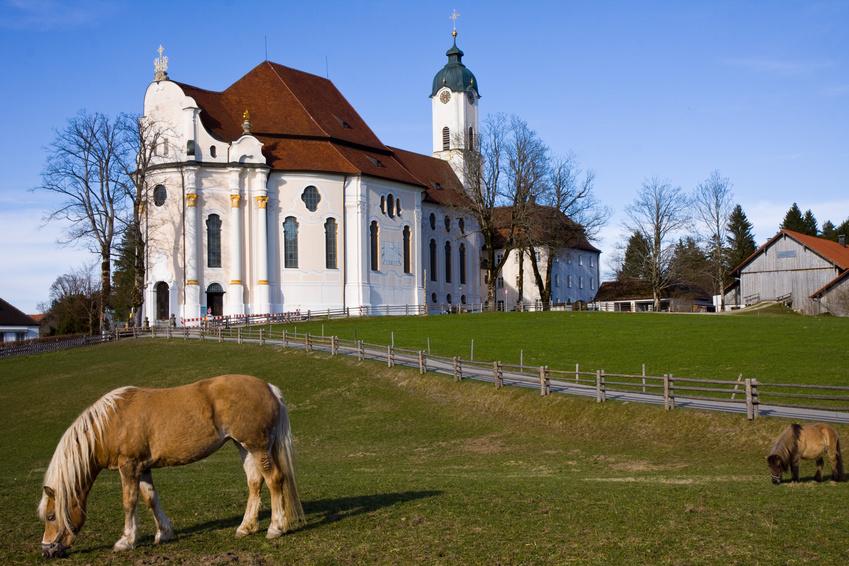 wieskirche sanctuary