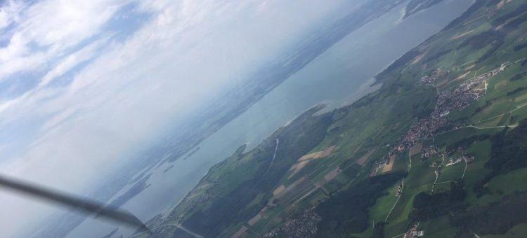 Juli Ausflug mit Motorflugzeugen