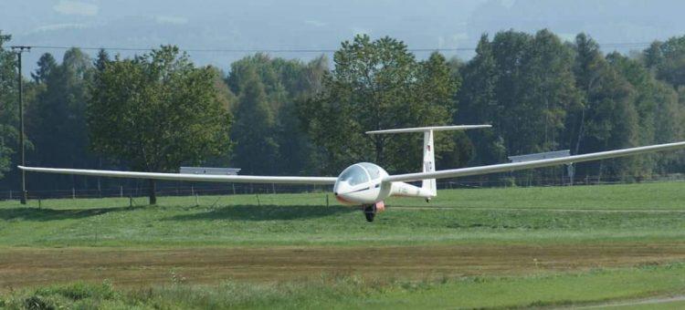 Segelkunstflugwettbewerb in Agathazell